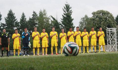 Răducioiu a convocat 18 jucători pentru stagiul de pregătire al naţionalei U17