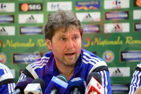 """Răducioiu: """"Meciul cu Moldova a fost un antrenament bun, sunt mulţumit de jocul echipei"""""""
