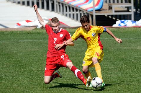 Naţionala U17 a României a fost învinsă de Moldova, scor 1-3, într-un meci amical