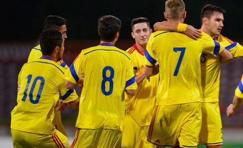 Naţionala sub 19 ani a României a învins Luxemburg, scor 1-0, într-un meci amical