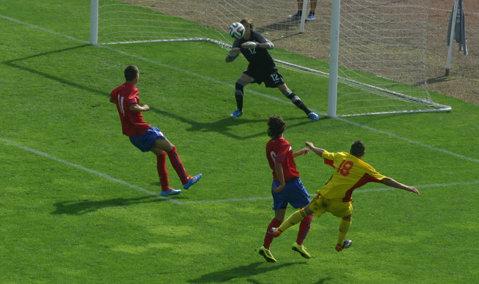 La U16 stăm bine. România, dublă victorie cu Serbia: 3-2 în amicalul de astăzi