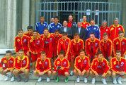 """Naţionala U18 a României a terminat la egalitate cu Serbia, scor 3-3. """"Tricolorii"""" mici au fost egalaţi în ultimul minut"""