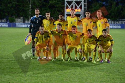 România U19 a pierdut primul meci din preliminariile EURO 2015. Cipru U19 ne-a învins cu 1-0 în minutul 90+2