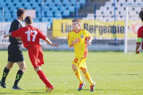 Cea mai mică naţională a câştigat categoric primul meci internaţional: România U15 - Moldova U15, scor 5-1. Un jucător evoluează la Real Madrid