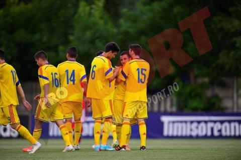 Selecţionata Under 19 va întâlni Elveţia, Feroe şi Andorra în grupa de calificare la Euro-2016