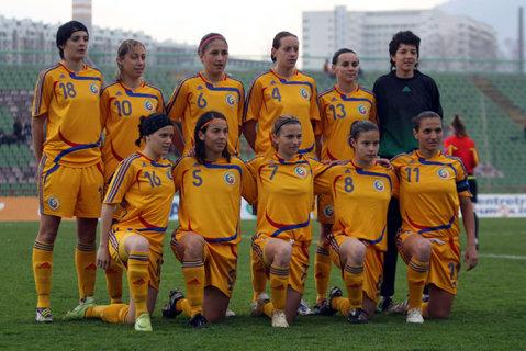 Echipa feminină U17 a României, victorie în faţa Moldovei, scor 3-0, într-un meci amical