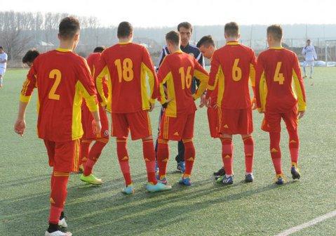 Început dezastruos pentru elevii lui Vintilă în Turul de Elită: România U17 - Slovenia U17 0-3