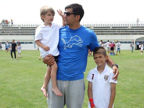 Încă doi Bornescu în fotbalul românesc! Băieţii fostului portar al Rapidului îi calcă pe urme tatălui lor