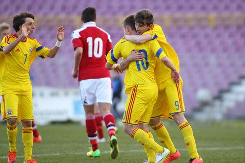 Lotul U17, completat cu doi jucători de la CSU Craiova