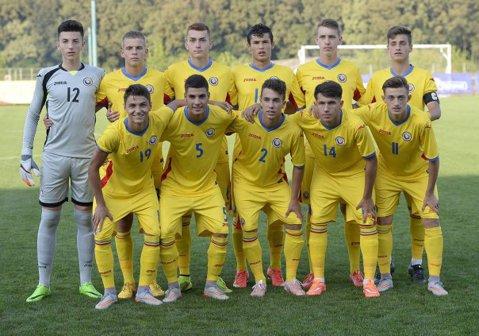 România U17 - Scoţia U17 1-1, într-un meci de pregătire