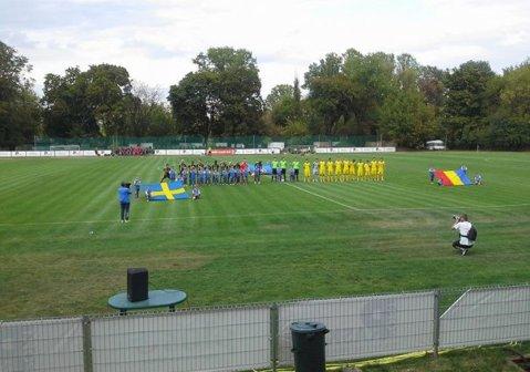 Naţionala U17 a României, în finala Syrenka Cup, după 2-1 cu Suedia
