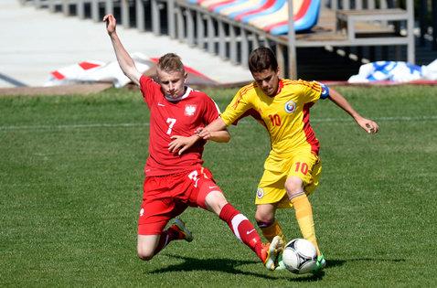 România  U18 - Suedia U18 2-1. Ianis Hagi şi Patrick Petre au marcat golurile victoriei
