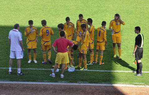 România under 16 a fost învinsă de Ungaria 2-1, într-un meci amical