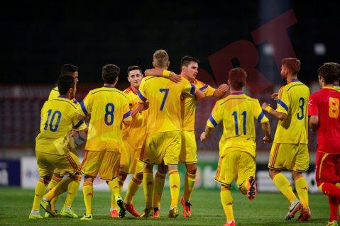 Lotul naţionalei de tineret a României pentru meciurile cu Danemarca şi Ţara Galilor
