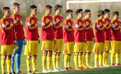 România U19 - Insulele Feroe U19 2-0, în preliminariile Euro-2016. Ce jucători a folosit selecţionerul Andrei Spier