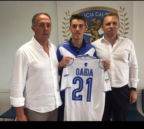 """Brescia romena! Tânărul internaţional Răzvan Oaidă s-a transferat în Italia, la Brescia Calcio. """"Mă bucur să calc pe urmele lui Hagi"""""""