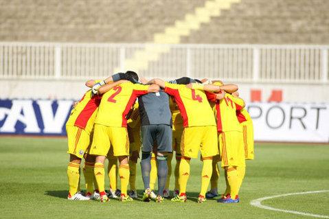 Naţionala de fotbal Under 18 va juca două partide amicale contra echipei similare a Turciei