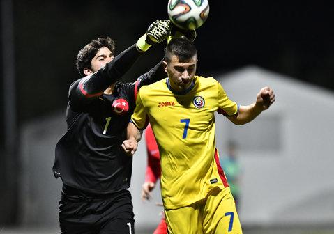 Naţionala de fotbal Under 18 a încheiat la egalitate, scor 0-0, meciul amical cu Turcia