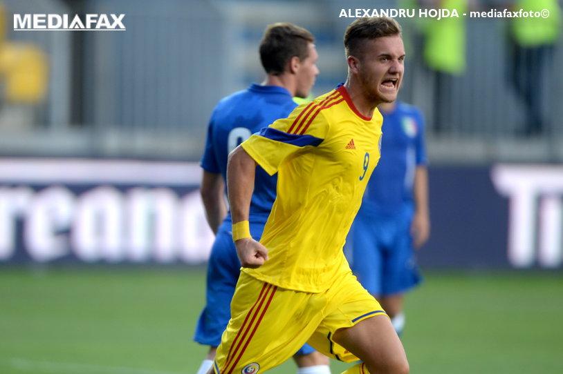 Victorie importantă pentru naţionala U21! Bosnia - România 1-3, în preliminariile pentru CE 2019. Florinel Coman, gol frumos din lovitură liberă. VIDEO