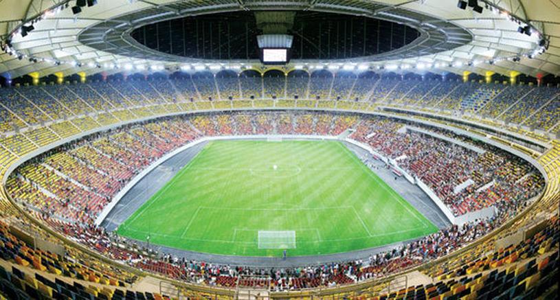 FOTO EXCLUSIV! Cum arată gazonul de pe Naţional Arena, înainte de meciul cu Ungaria!