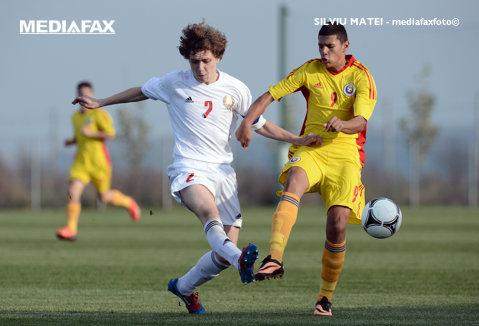 România sub 16 ani, victorie în faţa Serbiei într-un meci amical