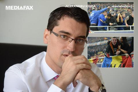 """Reacţia FRF după ce suporterii l-au înregistrat pe Răzvan Burleanu spunând: """"BGS primeşte comenzi de la noi"""". """"Primăria şi Jandarmeria au propus interzicerea bannerelor"""""""
