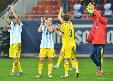 România încheie anul 2014 pe locul 15 în clasamentul FIFA. Topul primelor 10 naţionale