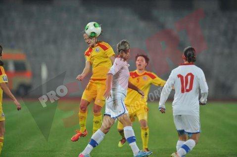 Naţionala feminină Under 15 a remizat cu Malta, scor 0-0, într-un meci amical