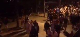 """Stare de """"război"""" la Budapesta, înainte de Ungaria - România! Un poliţist a fost rănit, iar 18 persoane au fost puse sub acuzare"""