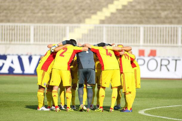 Naţionala under-19 a României, învinsă de echipa de tineret a ŢSKA Moscova, scor 3-0, în meci amical