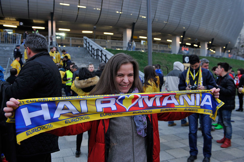 Premieră pe Cluj Arena la amicalul România - Spania. Pentru prima dată în istoria stadionului, s-a jucat cu casa închisă