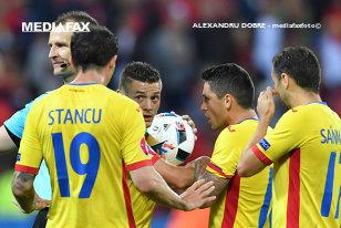 """Lucescu vede partea plină a paharului: """"Băieţii nu ne-au făcut de râs la EURO! Am făcut o figură frumoasă în primele două jocuri!"""""""