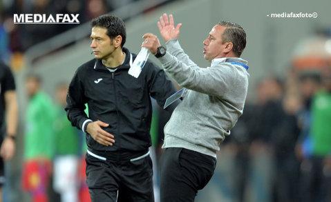 """Reghecampf, """"şters"""" de pe listă de Burleanu: """"Nu accept să lucreze în paralel la echipa naţională şi la echipa de club!"""" Singurul antrenor pentru care a vrut să facă o excepţie"""