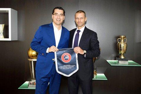 Răzvan Burleanu a primit o funcţie la UEFA! Şeful FRF, numit preşedintele grupului de lucru cu Uniunea Europeană
