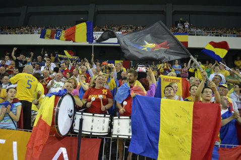 Peste 15.000 de bilete vândute deja pentru meciul România-Danemarca, din preliminariile CM de fotbal
