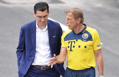 Burleanu i-a găsit înlocuitor lui Daum: Mircea Lucescu şi Cosmin Olăroiu sunt doriţi pe banca naţionalei! Ce condiţii trebuie respectate