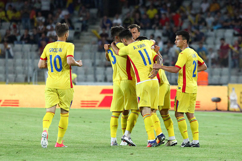 """13 cu noroc! Băluţă a debutat la naţională şi a marcat golul victoriei cu Chile: """"E un sentiment unic! Port acest tricou cu mândrie!"""""""