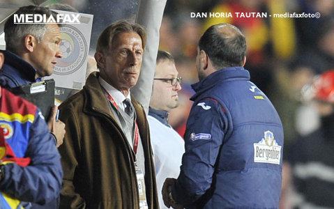 EXCLUSIV | Prima plecare din staff-ul lui Daum: va merge la un club important din Liga 1! Selecţionerul a avut o ieşire nervoasă la aflarea veştii