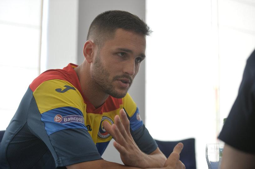 """EXCLUSIV   Florin Andone, """"taxat"""" de un fost golgheter român: """"Să joci 17 meciuri şi să dai un singur gol? Poate se aştepta să-l ţinem în braţe aici, în Balcani. Ştiţi ce greu e să mai găseşti un atacant de tipul meu!?"""""""