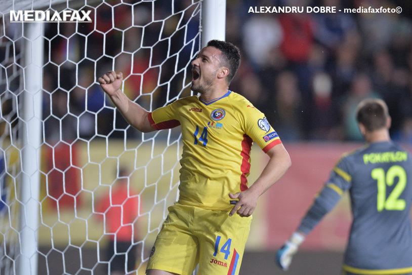 Elegant, la fel ca pe teren! Ce mesaj a avut Budescu pentru Daum după ce a jucat fantastic în victoria cu Kazahstan