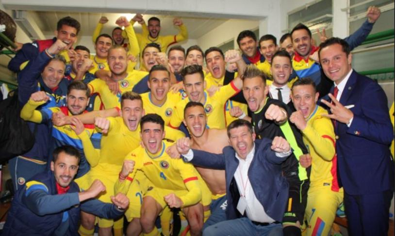 Tricolorii mici au aflat unde joacă poate cel mai greu meci al preliminariilor! Test dificil pentru România U21 în faţa Portugaliei U21