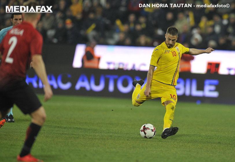 """Contra, Grozav cu """"Il Luce""""! România face unul dintre cele mai bune meciuri din ultimii ani şi învinge Turcia lui Lucescu cu """"dubla"""" lui Grozav"""