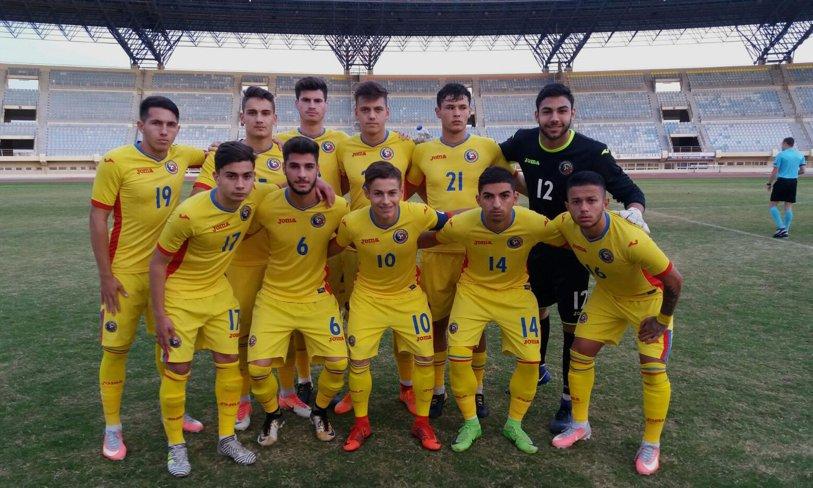 Spectacol şi obiectiv îndeplinit! Gibraltar U19 - România U19 0-8 şi tricolorii se pot mândri cu o performanţă importantă. Alex Măţan, puştiul de la Viitorul, a fost eroul meciului