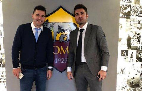 """Un ultim asalt pentru Ştefan Radu? Mutu şi Contra, în vizita la Roma. Cei doi vor fi prezenţi pe Olimpico la """"Derby della Capitale"""""""