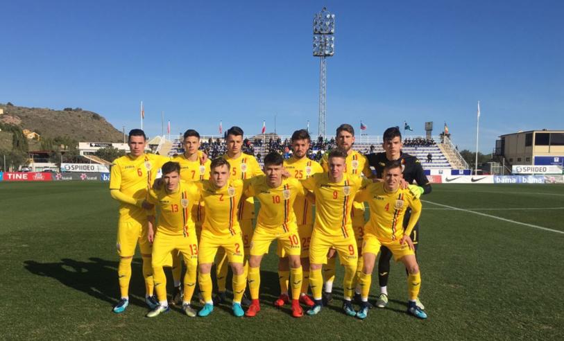 România U18 a remizat cu Norvegia U18 într-o partidă disputată în Spania. Echipa folosită de selecţioner