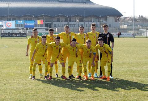 Una caldă, alta rece! Înfrângere categorică pentru naţionala U17 la debutul în Turul de Elită