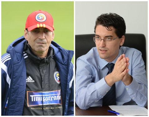 """Burleanu l-a fentat pe Piţurcă! Şeful FRF a povestit cum a pierdut """"Piţi"""" un milion de euro pe vremea când era selecţioner: """"Cred că o să rămân în istoria fotbalului românesc"""""""