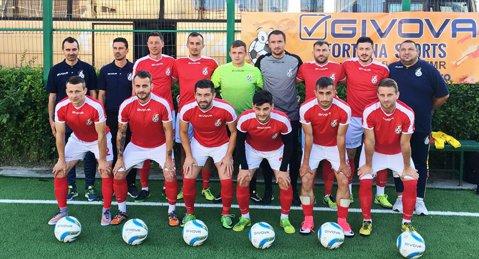 """Victorie pentru """"naţionala lui Burleanu""""! Cu cât s-a impus selecţionata de minifotbal a României în faţa Bulgariei"""
