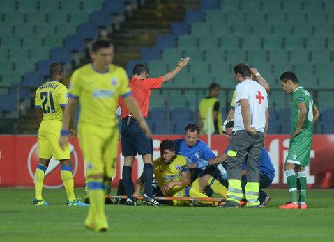 Motivul pentru care Tănase a fost trimis pe teren în meciul cu Ludogoreţ chiar dacă nu era apt 100%. Explicaţiile Stelei