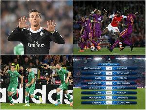 Pasă de gol pentru Moţi, dar şi un penalty comis. Real Madrid s-a chinuit pentru o victorie cu Ludogoreţ. Atletico Madrid - Juventus 1-0. Arsenal - Galatasaray 4-1. Rezultatele serii în Champions League